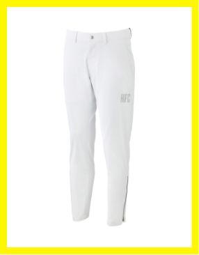 裾ジップ 神白パンツ
