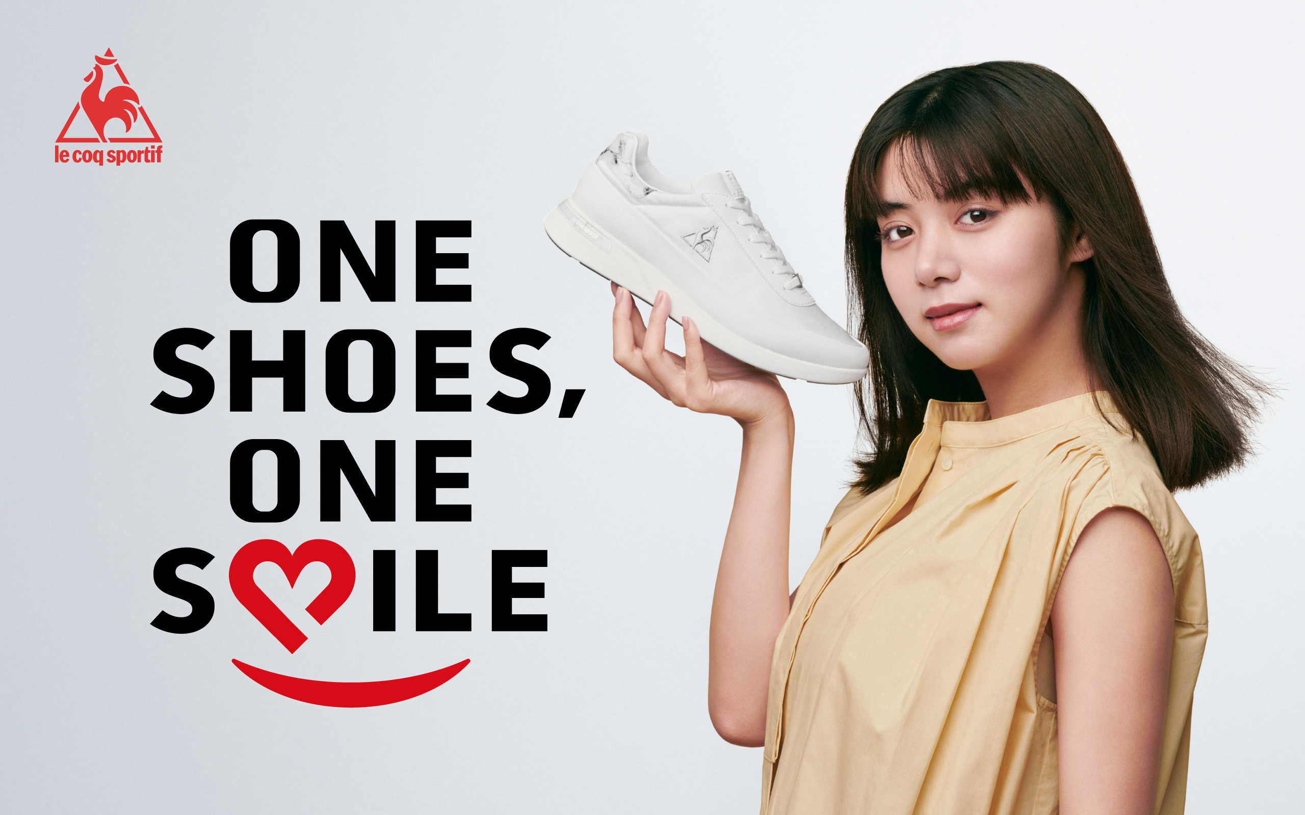 ONE SHOES,ONE SMILE