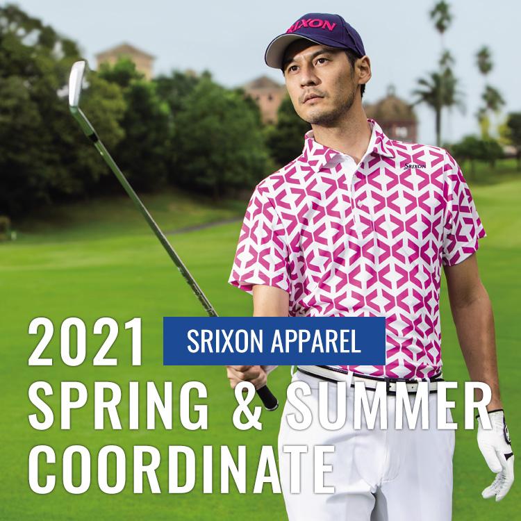 2021夏ゴルフメンズコーディネート